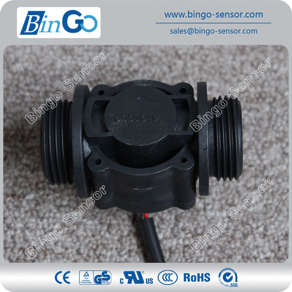 "Bingo G1"" Brass Magnetic Water Flow Rate Sensor"