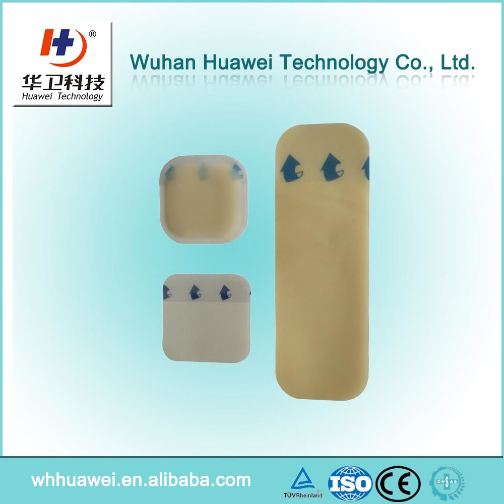 Leg Ulcer Bedsores and Burn Wound Hydrocolloid Waterproof Wound Dressing pictures & photos