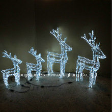 China 3d deer rope light designs for christmas decoration china 3d 3d deer rope light designs for christmas decoration mozeypictures