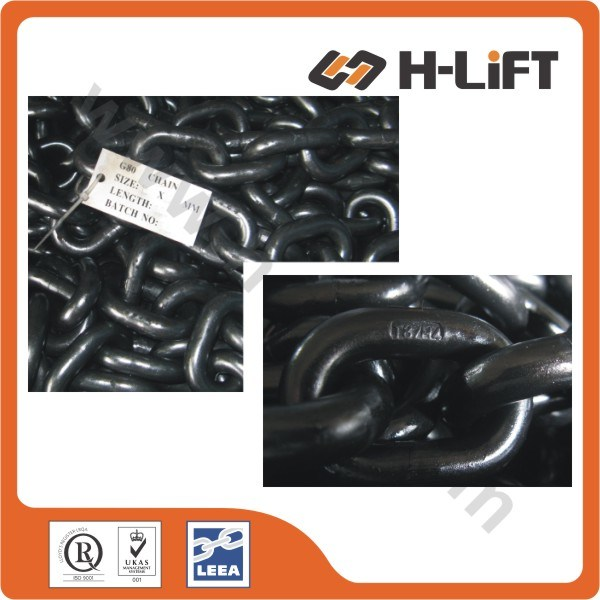 G80 Chain / Grade 80 Load Chain / G80 Alloy Lifting Chain