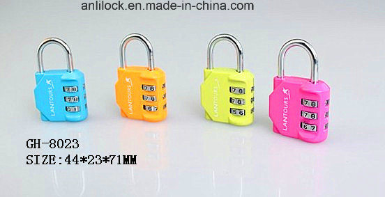 Colorful Combination Padlock, Padlock, Bag Lock (GH-8077) pictures & photos