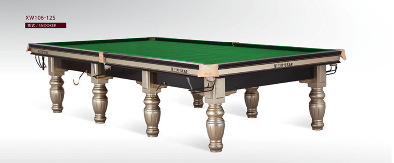China FT Star Steel Cushion Slate Snooker Table China Snooker - Star pool table
