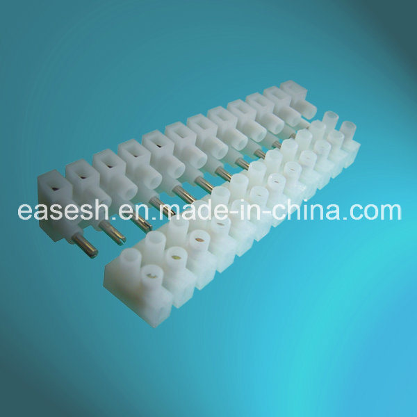 Manufacture VDE Approved PA Terminal Blocks with Vertical Plug