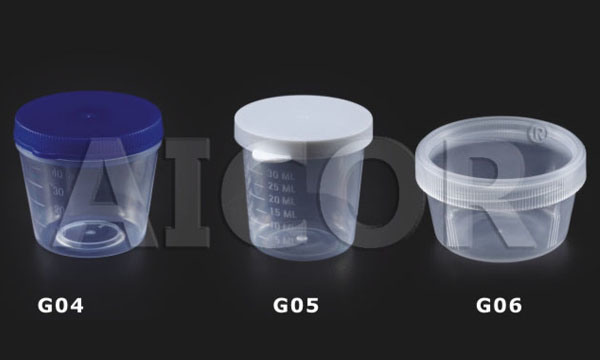 CE Approved Specimen Container, Sterile
