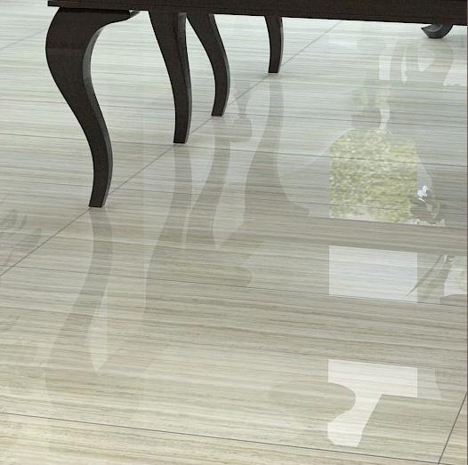 Building Material Wooden Design Full Glazed Porcelain Floor Tile (600*600mm)