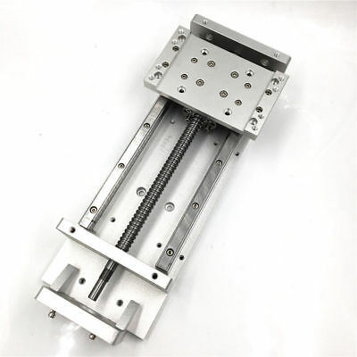 Manual Sliding Table Ball Screw Linear Slide Stage CNC 100-600mm