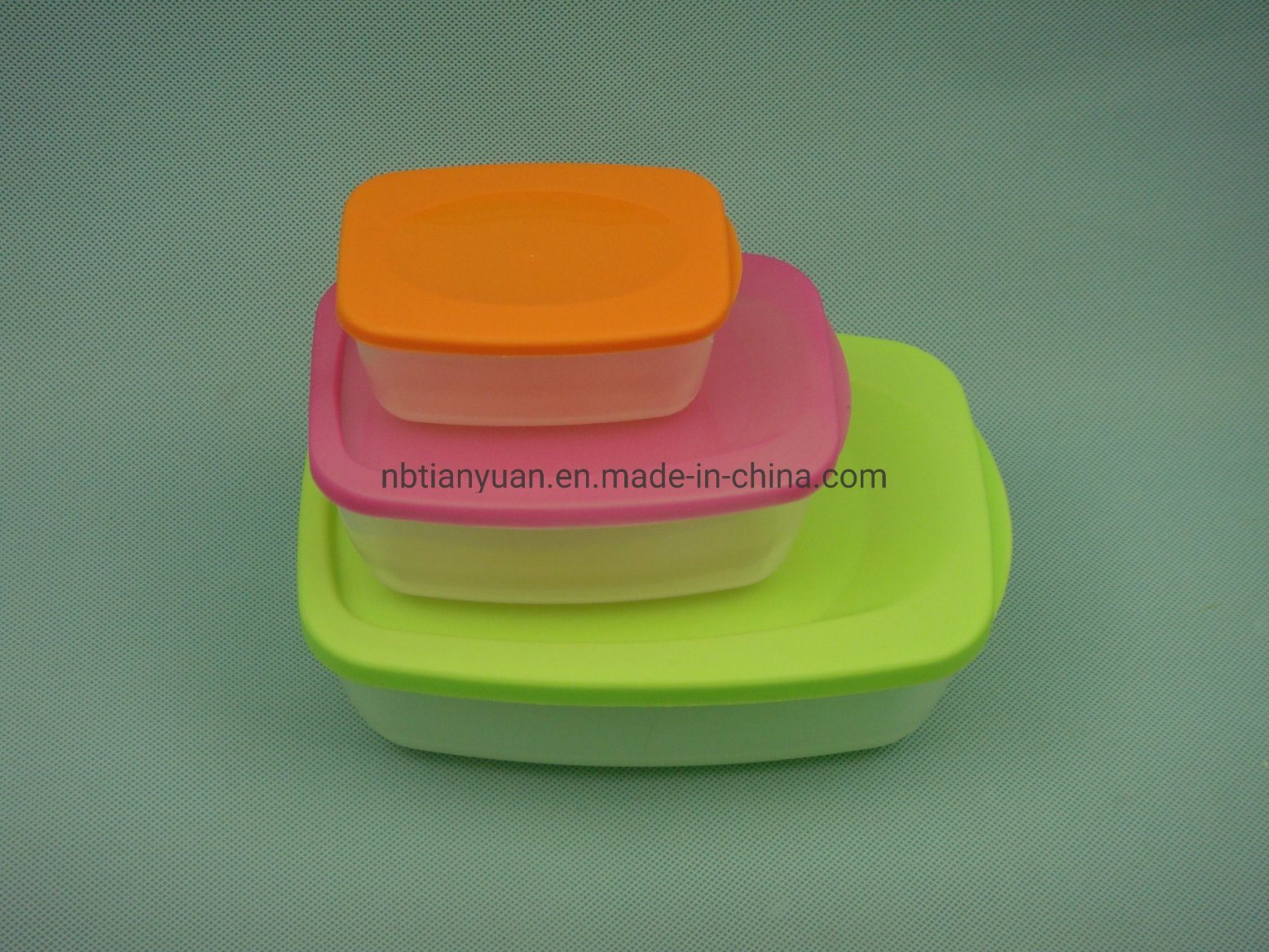 Plastic Food Storage Container Box Sets pictures & photos