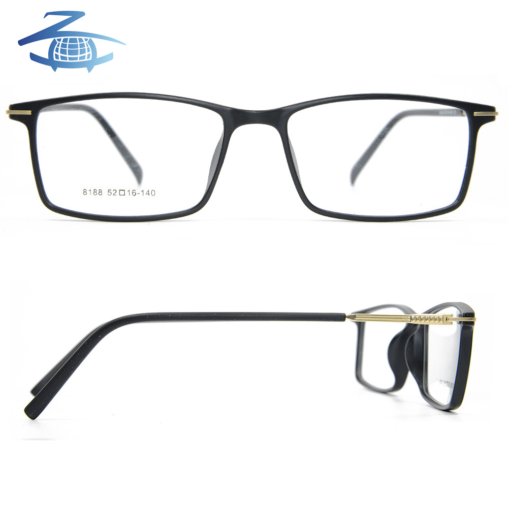dbc10892615c China 2018 New Fashion Tr90 Frames Square Light Optical Glasses Frame for  Men - China Eyeglass Frame