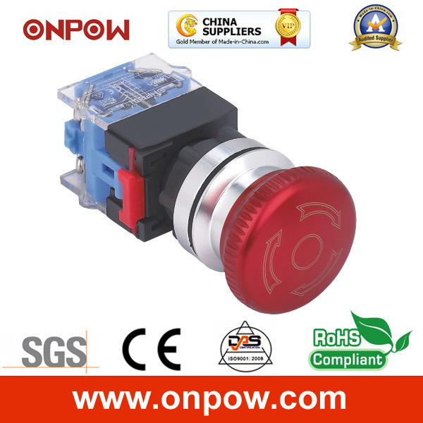 [Hot Item] Onpow 30mm Emergency Switch (LAS0-K30-11TSC/R, CE, CCC, RoHS)