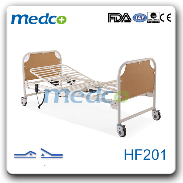 Simple Two Function Electric Home Care Bed