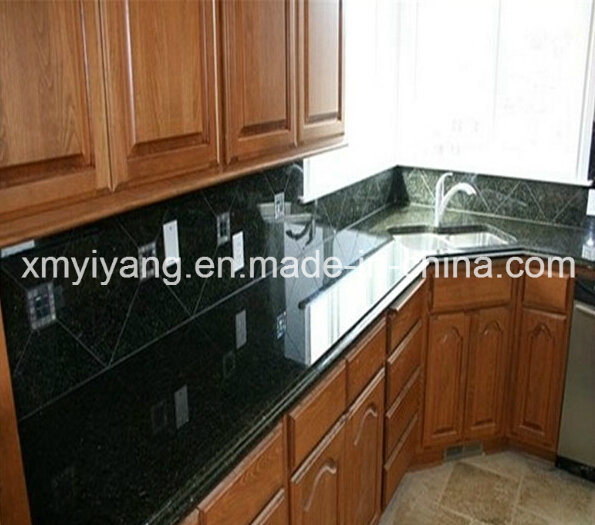 China Black Granite Stone Slab Countertop For Kitchen Table Top Bathroom Vanity China Kitchentop Granite Kitchentop