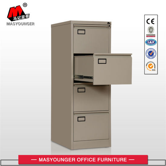 China Staples Office Furniture 2 3 4 Drawer Metal Vertical Filing
