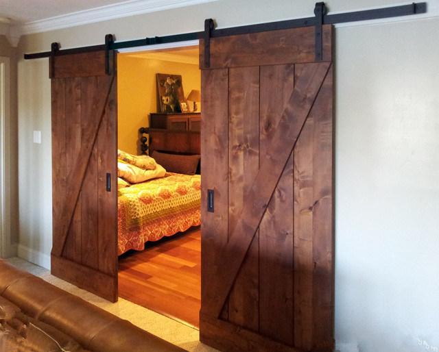 China Interior Bedroom Barn Door, Sliding Doors, Wooden ...