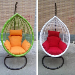 China Garden 12mm White Round Pe Wicker Rattan Hanging Swing Chair Cane Outdoor Furniture China 2mm White Round Pe Wicker Rattan Hanging Swing And Bold Rattan Swing Hanging Hammock Price