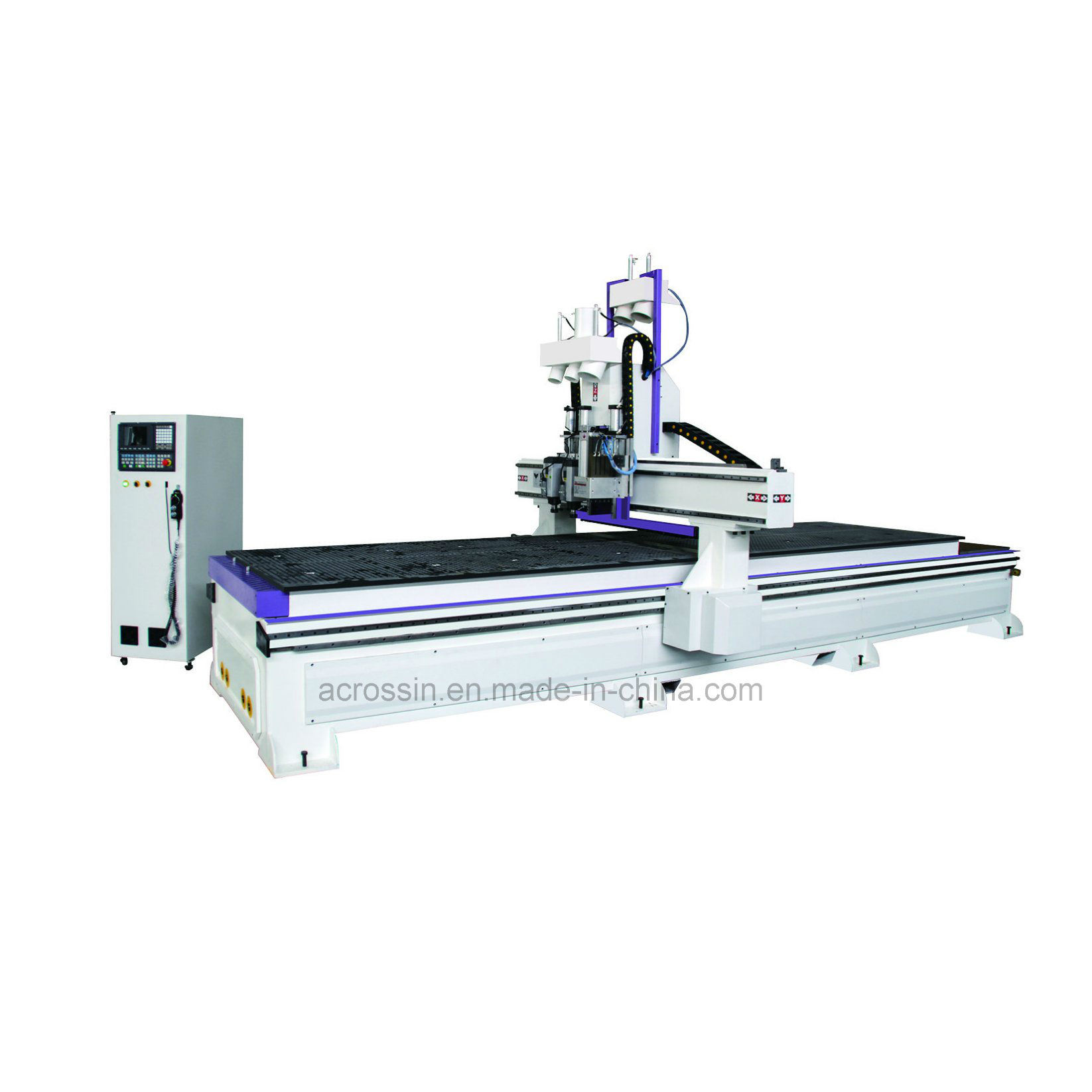 China Loading And Unloadiing Cnc Router Nesting Solution
