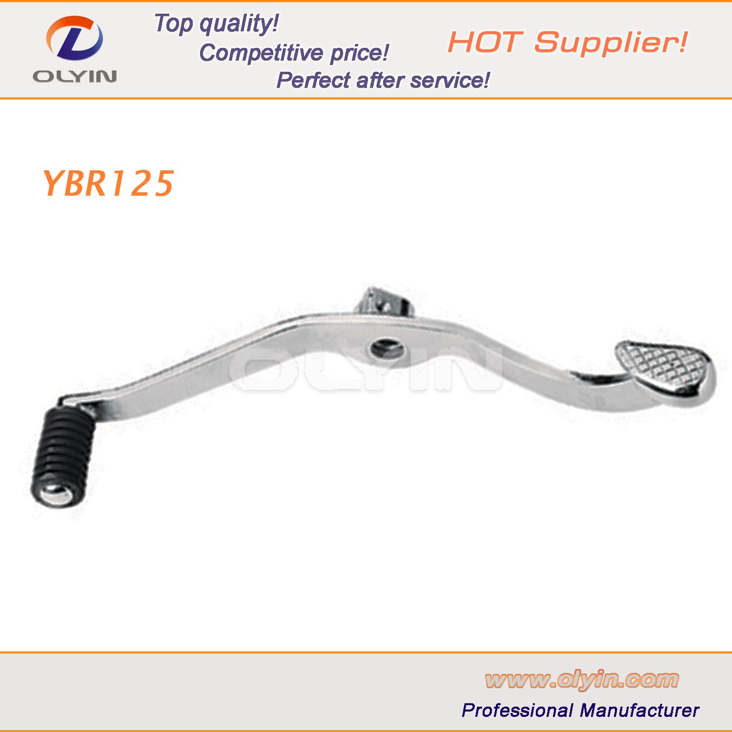 [Hot Item] YAMAHA Motorcycle Brake Pedal, Ybr125 Motorcycle Gear  Lever/Pedal for Motor Parts