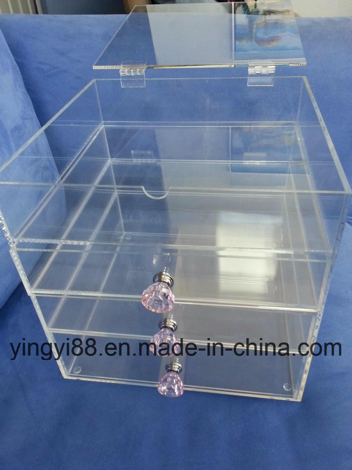 Custom Acrylic Makeup Organizer High Quality Acrylic Cosmetic Organizer pictures & photos