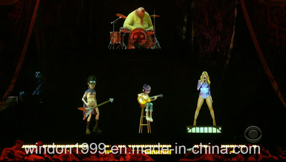D Hologram Exhibition : China holographic d hologram projector system for stage live