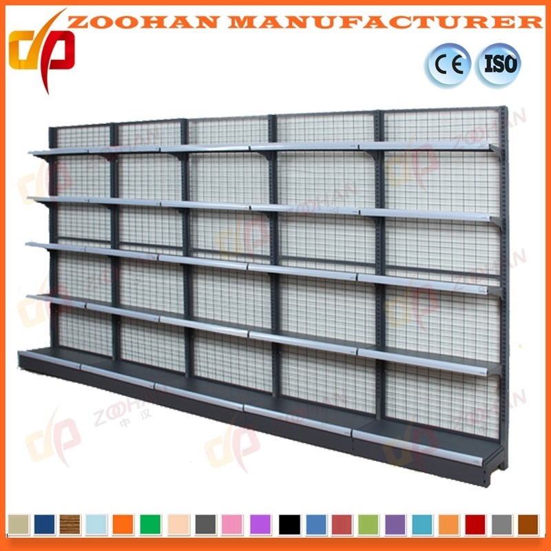 China Metal Wall Shelves Supermarket Storage Wire Shelving Display ...