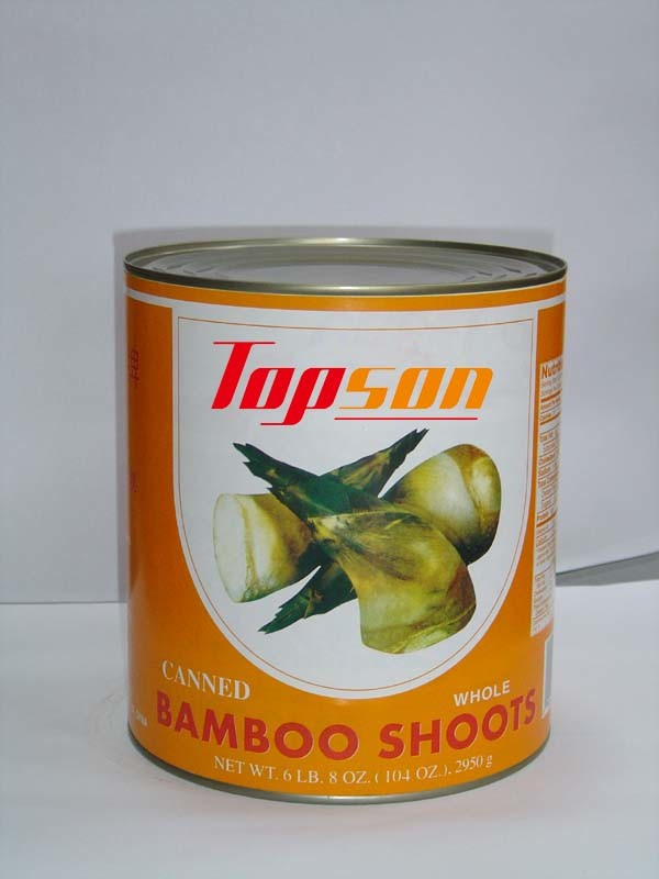 Canned Vegetables Canned Bamboo Shoot with Whole/Halves/Slice/Strip