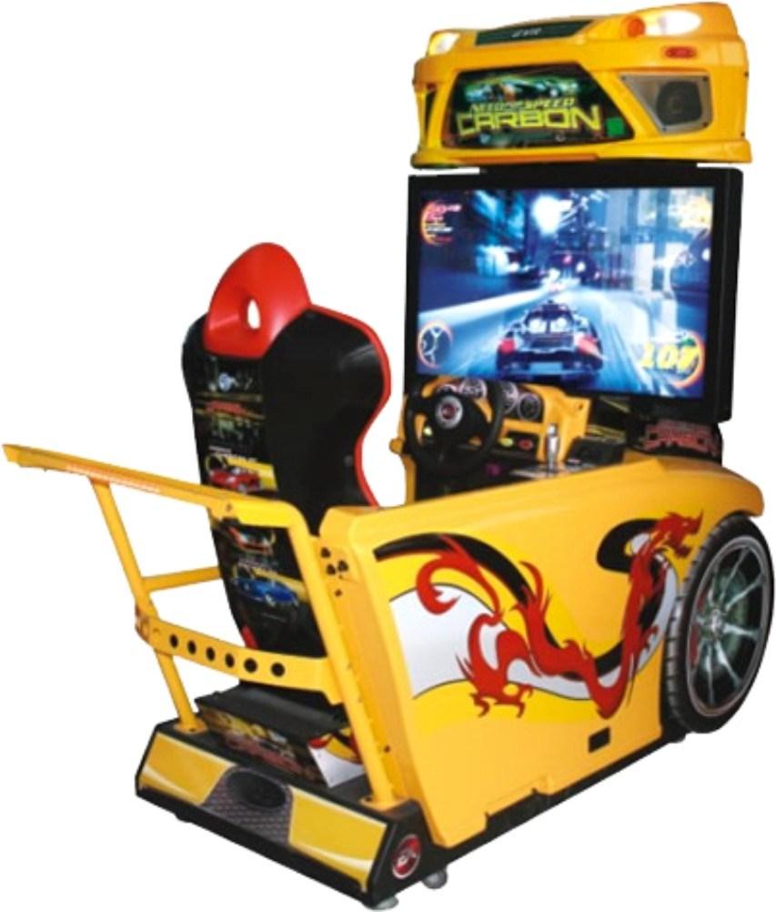 china coin operated car racing simulator car driving arcade machine