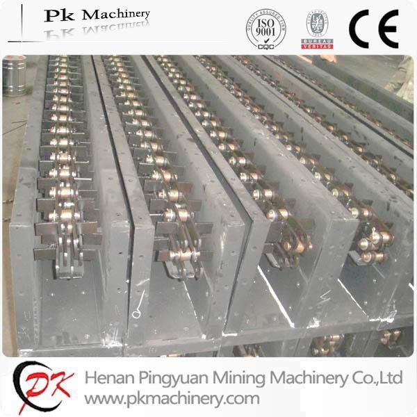China Stainless Steel Wheat, Grain Scraper Chain Conveyor