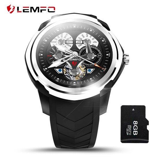 [Hot Item] Lemfo Lf17 3G WiFi Smart Watch Android 5 1 Watch Phone GPS SIM  Card Heart Rate Monitor Bluetooth Wrist Smartwatch for Men Women