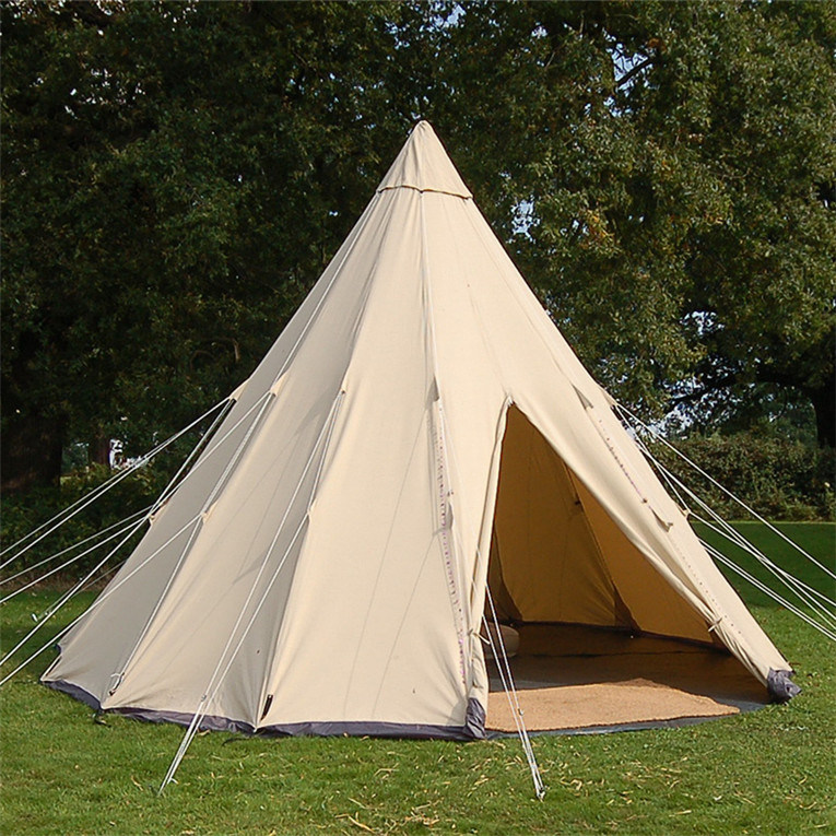 best service 553ed db715 [Hot Item] Outdoor Camping Teepee Tent Tipi Family Dome Tent Portable Pop  up Tipi Tent