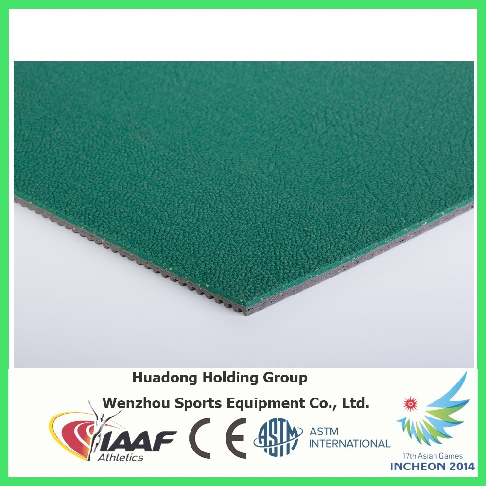 Iaaf Professional Badminton Court Rubber Floor Mat pictures & photos