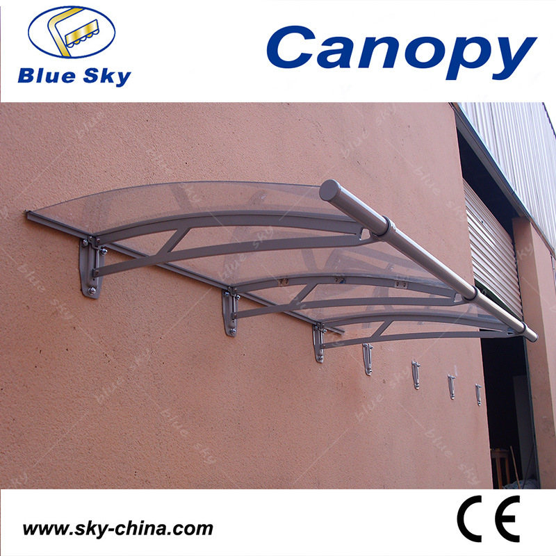 Easy Installation Aluminum Transparent Side Door Canopy (B900-2) pictures & photos