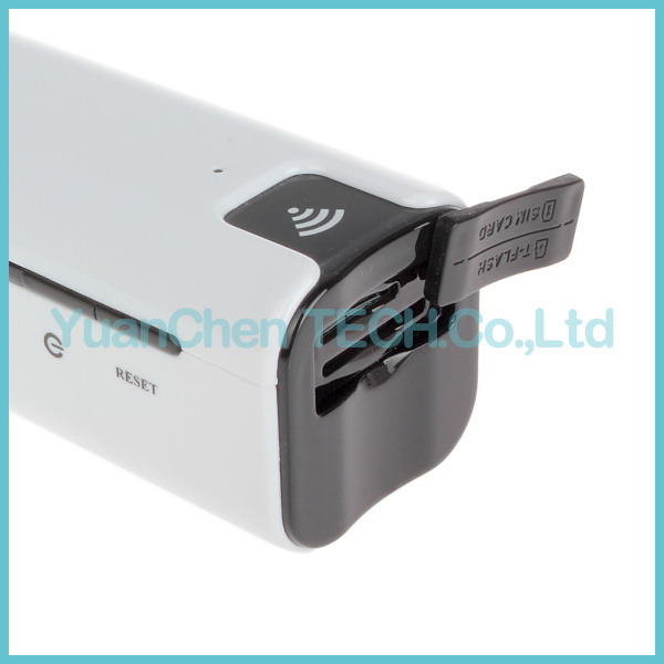 2200mAh Power Bank Extend Charger 3G WiFi Router Routeur with SIM TF Card Slot pictures & photos