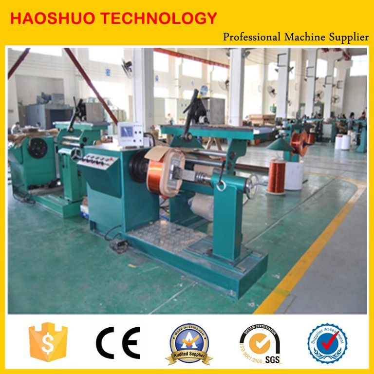 China Automatic 5 Tons Electric Copper Wire Coil Winding Machine ...