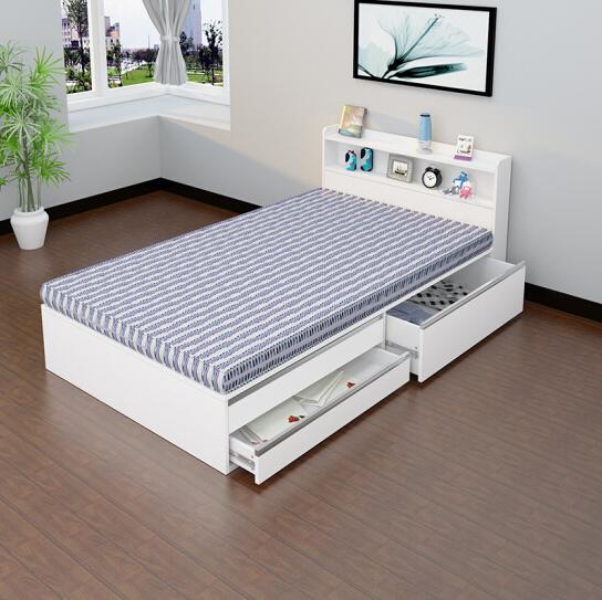 Cheap Modern Wooden Single Bed