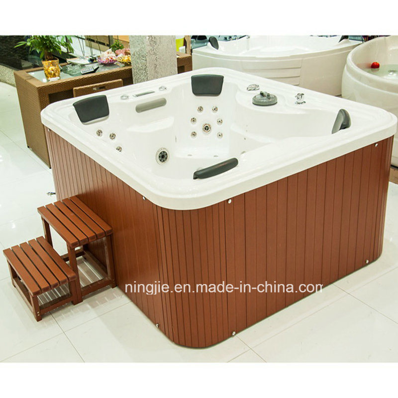 Luxury Outdoor Massage SPA Sanitary Ware Hot Tub (713A) pictures & photos