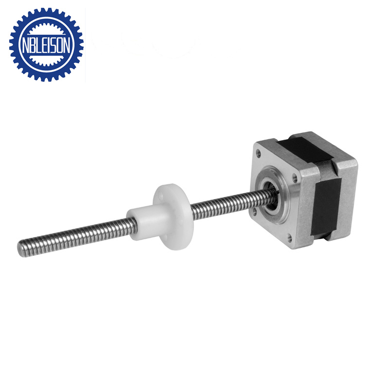 [Hot Item] NEMA 14 Linear Stepper Motor, Lead Screw Stepping Motor, Linear  Actuator Motor