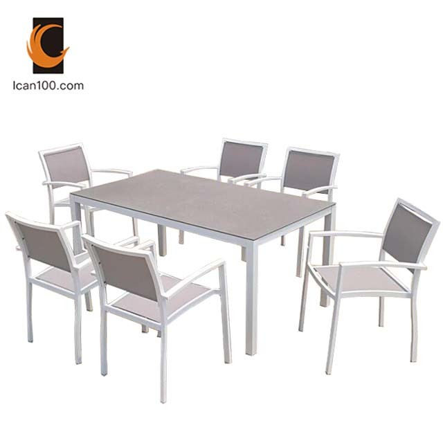 Hot Item Rust Proof Guangzhou Restaurant Cafe Tables Chairs Furniture I Can 50006