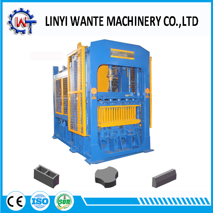 Automatic Qt8-15 Concrete Hollow Block/ Solid Brick/ Interlocking Paver Making Machine pictures & photos