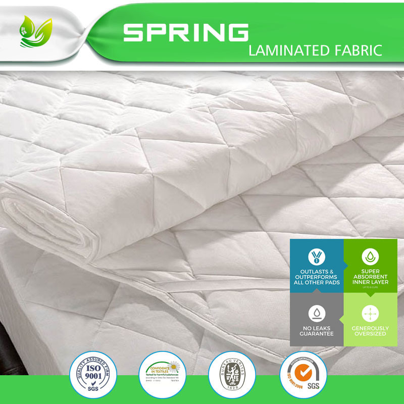 China Breathable Waterproof Mattress Protector Cover Full Size
