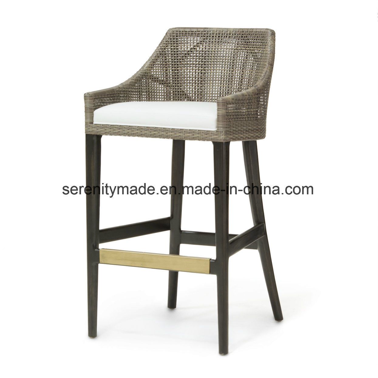 Aluminum Frame Synthetic Rattan Woven