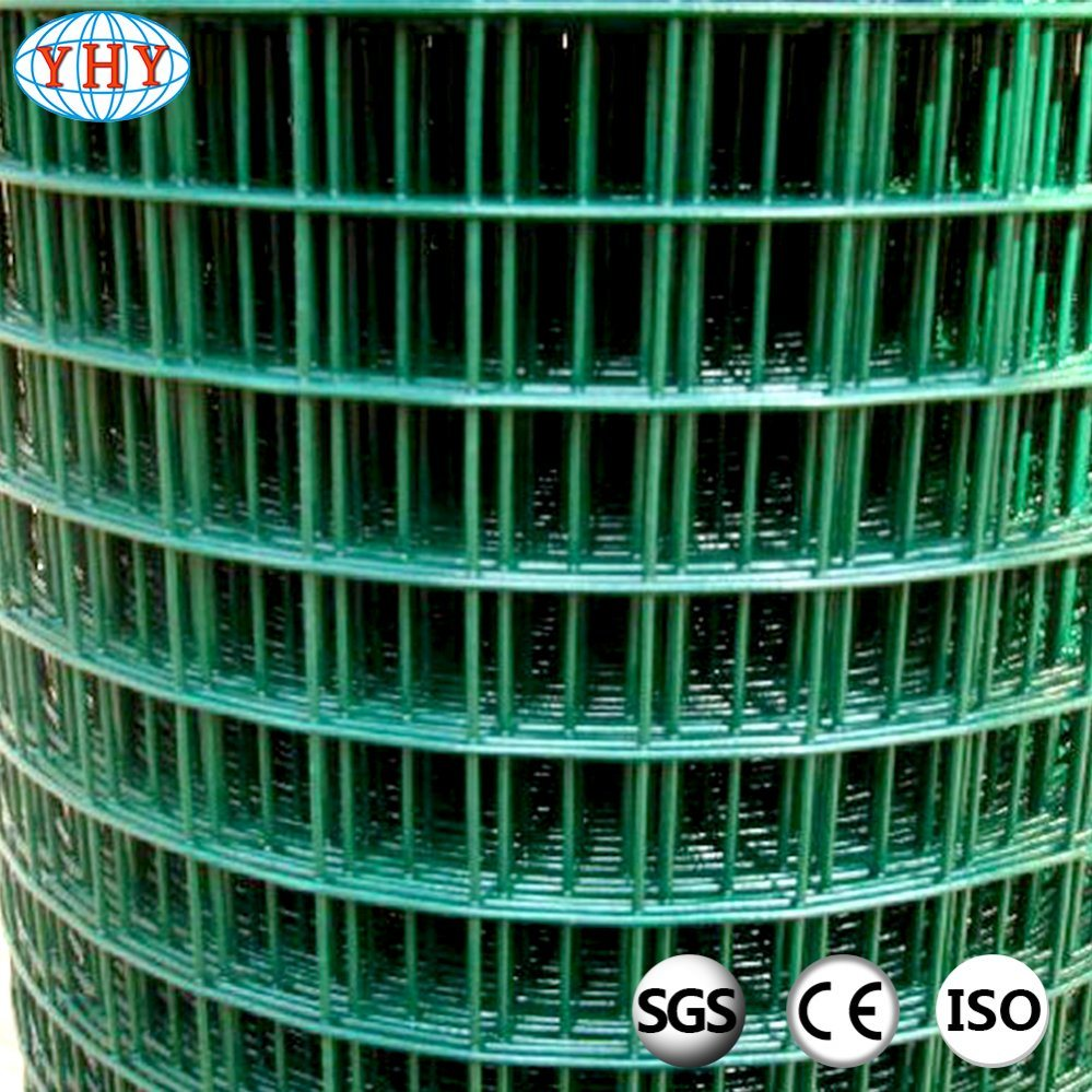 China 1/2inch Green Plastic Coated Welded Wire Mesh Rolls Photos ...