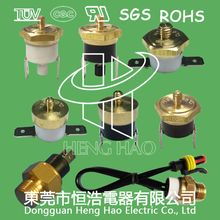 [Hot Item] Ksd301 Copper Head Thermostat with M3/M4/M5/M6 Screw
