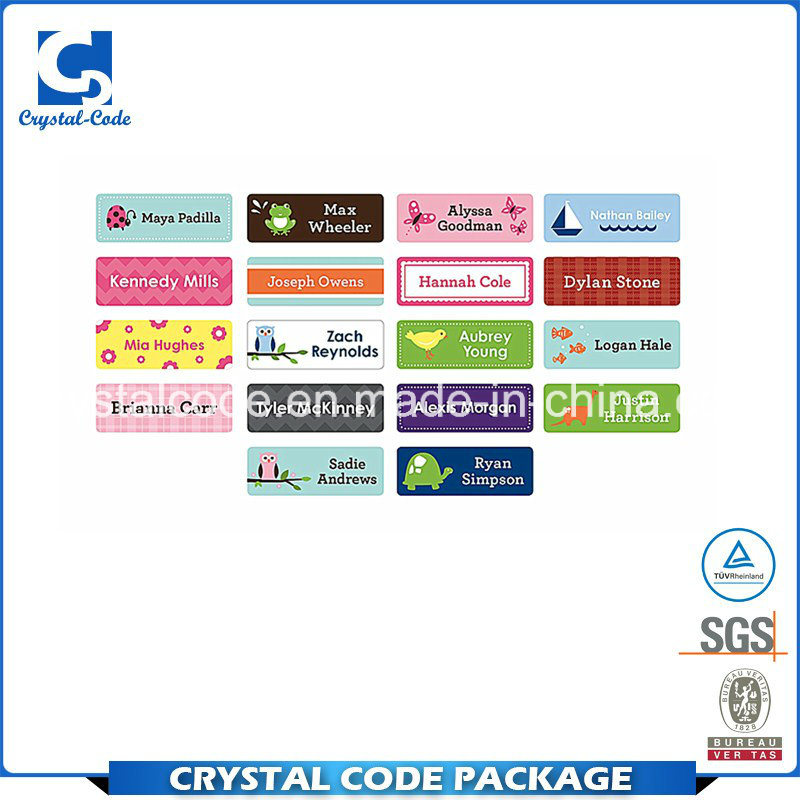China clear and distinctive personalised stickers labels china label sticker