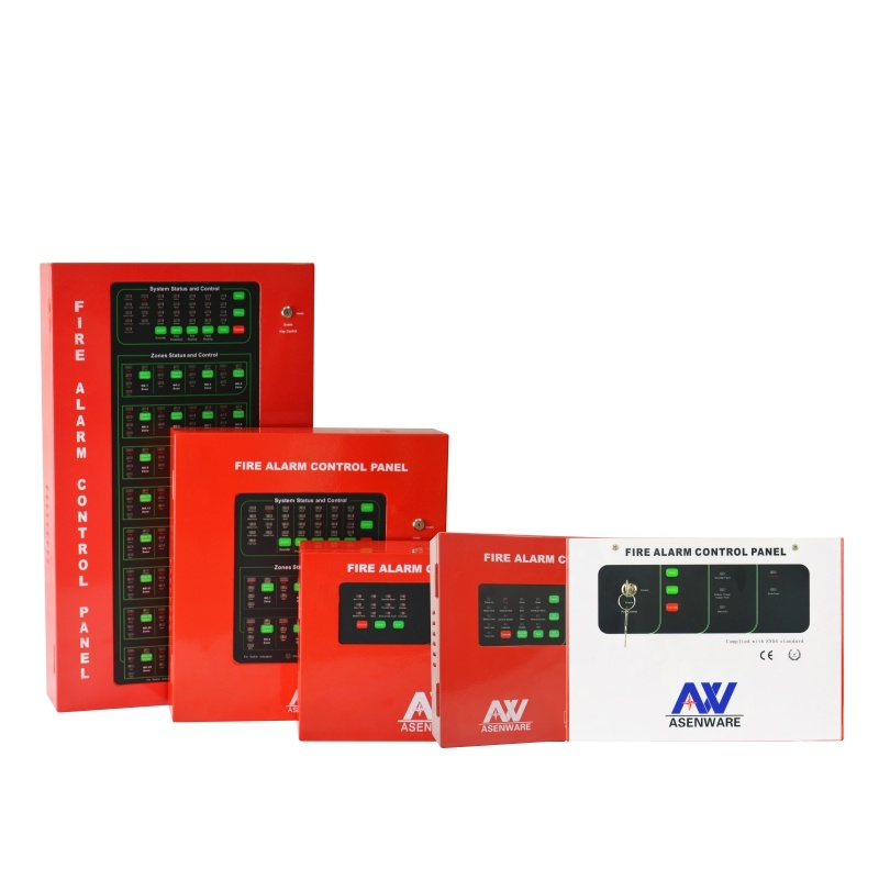 China Red Color Conventional Fire Alarm System Control Panel - China ...