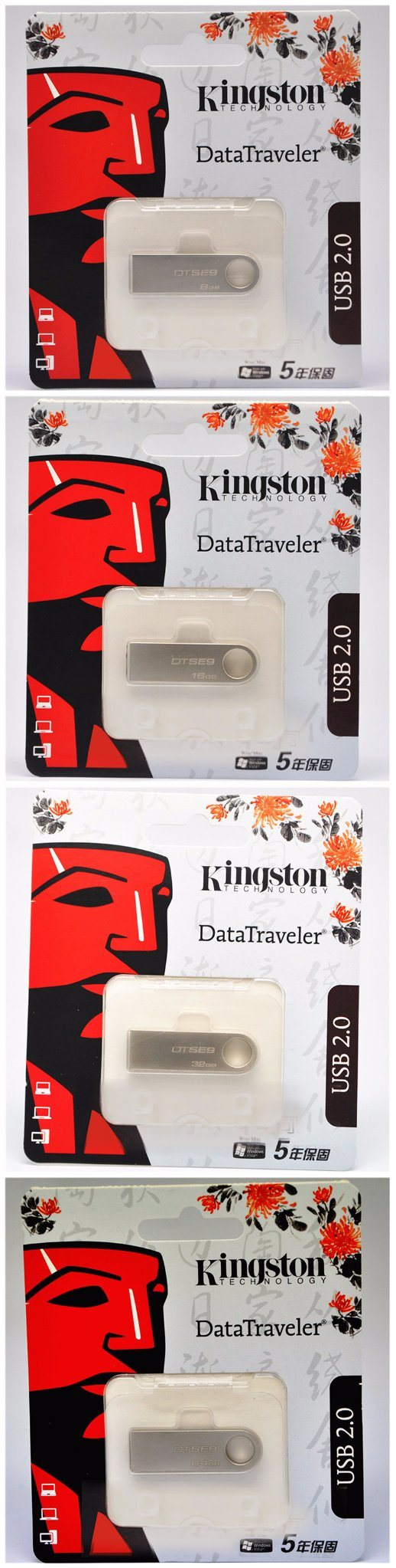 China Usb Stick Flash Drive Oem Logo 4gb 8gb 16gb 32gb 64g 128g Flasdisk Kingston Metal 20 30 Memory Pen