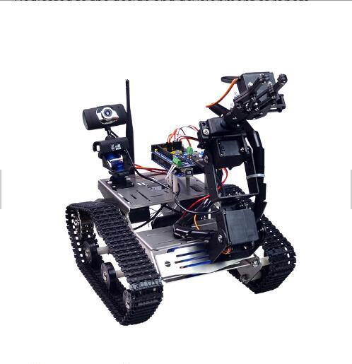 China robot kit for beginners wireless remote control tank