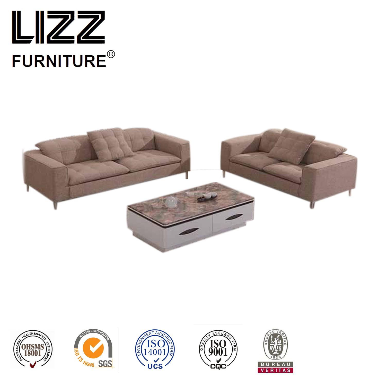 [Hot Item] Lizz High Quality Living Room Modern Fabric Sectional Sofa