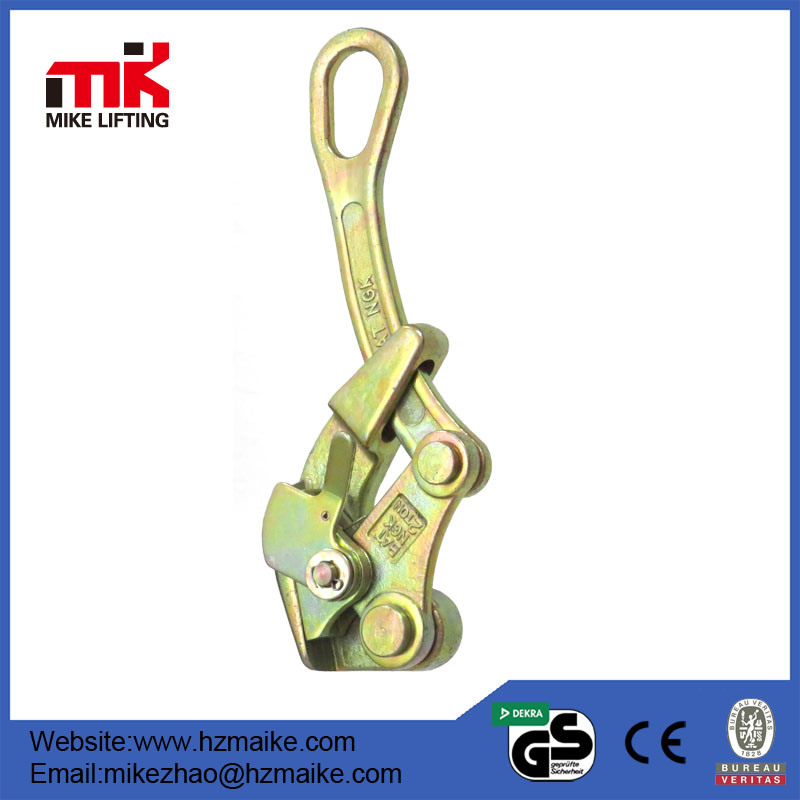 2 T 4-22 MM Wire Grip Steel Wire Grip Cable Clamp Wire Pulling Grip Hand Puller