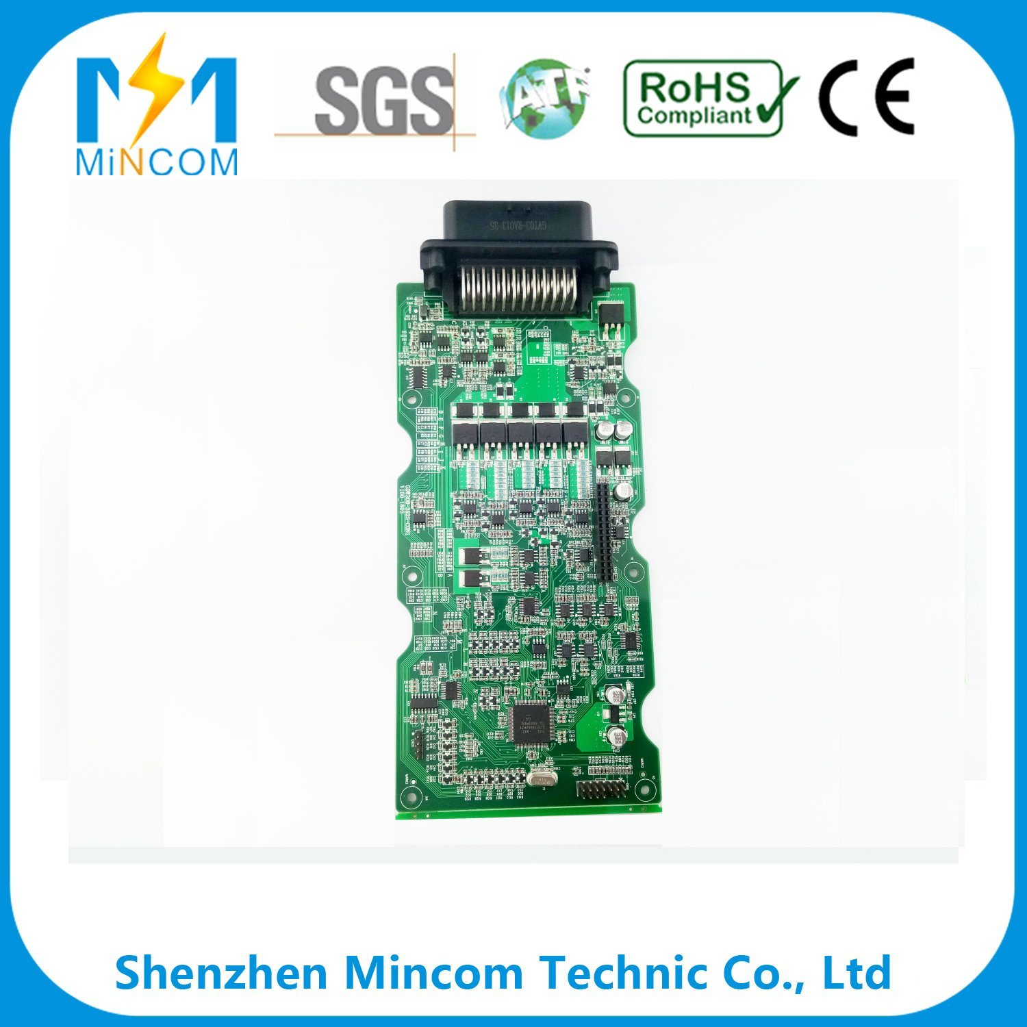 China High Quality Turn Key Pcb Coated With Copper Fastest Delivery Electronic Circuit
