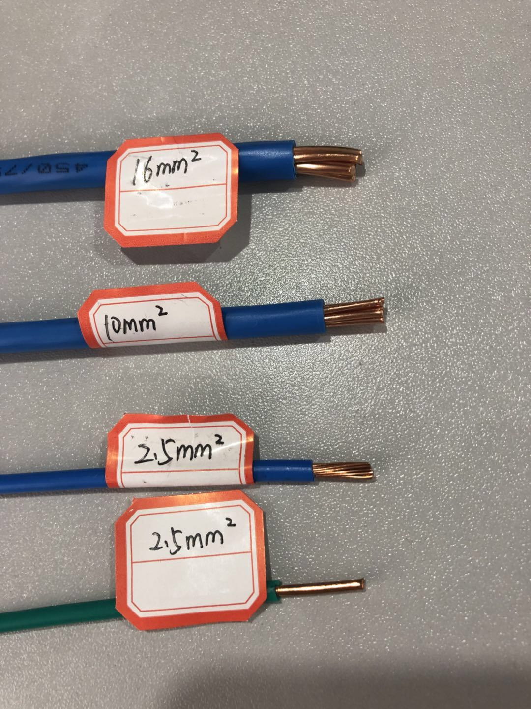China Pvc Insulated Electric Wire Single Copper 6mm 4mm 25mm 15mm Buy Power Cablervvp Cable Flexible 25mm2