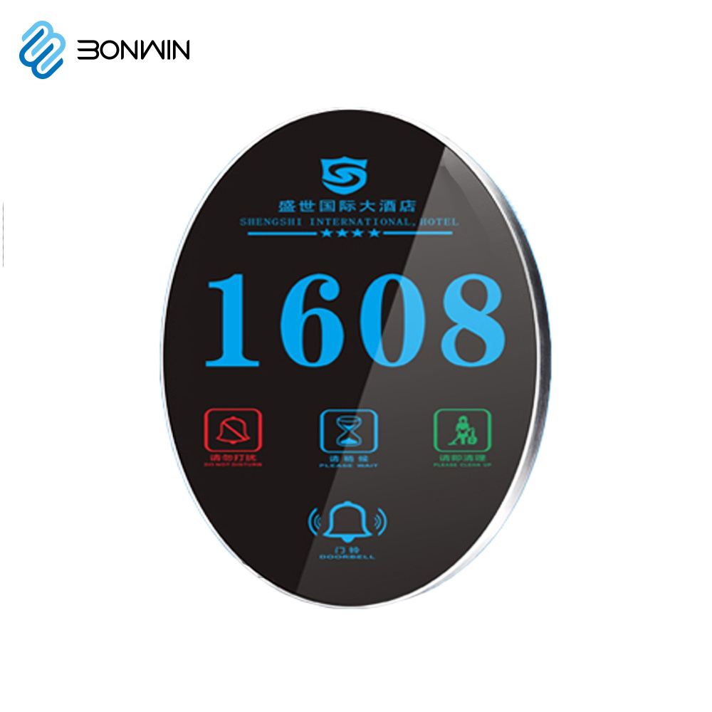 china electronic stainless steel hotel house room door number plates rh bonwintech en made in china com galt house hotel rooms knockranny house hotel rooms